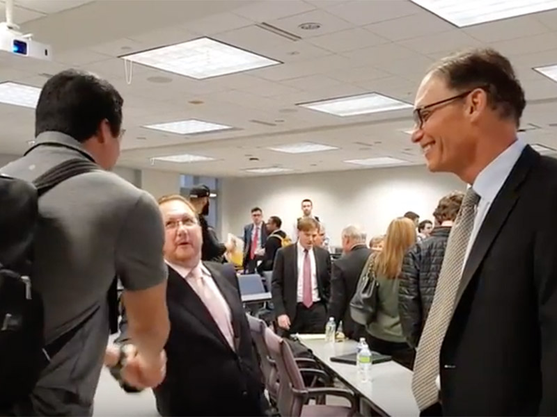 Marc Trestman discusses the value of a law degree, leadership, teamwork and other life lessons at Tulane Law School in conjunction with the Tulane Center for Sport.